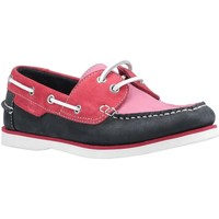 Sko Dame Sejlersko Hush puppies  Pink/Navy