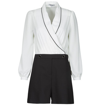 textil Dame Buksedragter / Overalls Morgan SHAMIE Sort / Hvid
