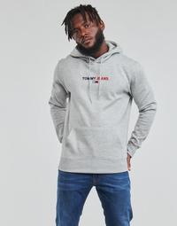 textil Herre Sweatshirts Tommy Jeans TJM LINEAR LOGO HOODIE Grå