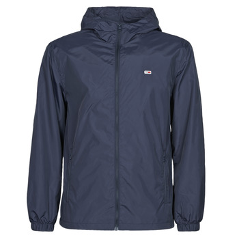 textil Herre Vindjakker Tommy Jeans TJM PACKABLE WINDBREAKER Marineblå