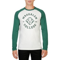 textil Herre Langærmede T-shirts Oxford University - MAGDALEN-RAGLAN-ML green