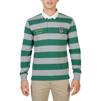 textil Herre Polo-t-shirts m. lange ærmer Oxford University - MAGDALEN-RUGBY-ML green