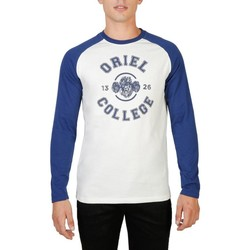textil Herre Langærmede T-shirts Oxford University - ORIEL-RAGLAN-ML blue