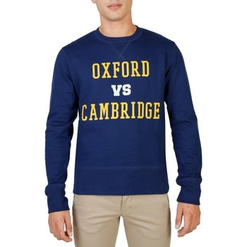 textil Herre Sweatshirts Oxford University - OXFORD-FLEECE-CREWNECK blue