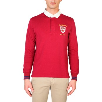 textil Herre Polo-t-shirts m. lange ærmer Oxford University - QUEENS-POLO-ML red