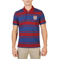 textil Herre Polo-t-shirts m. korte ærmer Oxford University - QUEENS-RUGBY-MM red