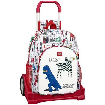 Tasker Børn Rygsække / skoletasker med hjul Algo De Jaime 611955860 Blanco