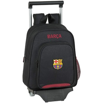 Tasker Børn Rygsække / skoletasker med hjul Fc Barcelona 612027020 Negro