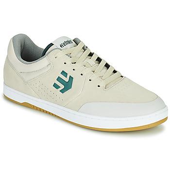 Sko Herre Lave sneakers Etnies MARANA Hvid / Grøn