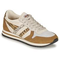 Sko Dame Lave sneakers Gola DAYTONA SAFARI Zebra / Kamel