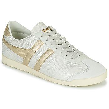 Sko Dame Lave sneakers Gola BULLET LIZARD Beige / Guld
