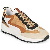 Sko Dame Lave sneakers Ikks BS80205 Hvid / Beige