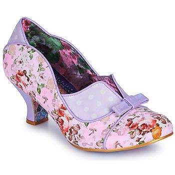 Sko Dame Højhælede sko Irregular Choice HOLD UP Violet