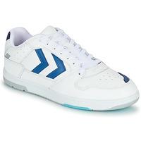 Sko Herre Lave sneakers Hummel POWER PLAY Hvid / Blå
