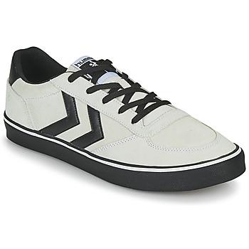 Sko Herre Lave sneakers Hummel STADIL 3.0 SUEDE Beige / Sort