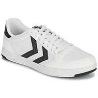 Sko Herre Lave sneakers Hummel STADIL LIGHT CANVAS Hvid