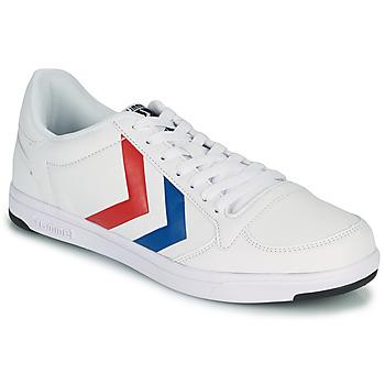 Sko Herre Lave sneakers Hummel STADIL LIGHT Hvid / Blå / Rød