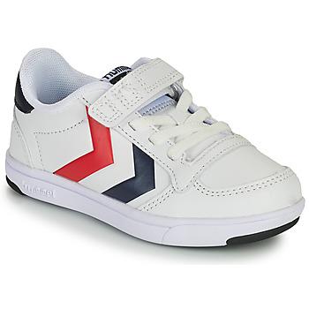 Sko Børn Lave sneakers Hummel STADIL LIGHT QUICK JR Hvid