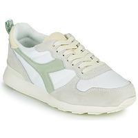 Sko Dame Lave sneakers Diadora CAMARO ICONA WN Hvid / Grøn