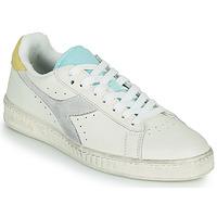 Sko Dame Lave sneakers Diadora GAME L LOW ICONA WN Hvid / Blå