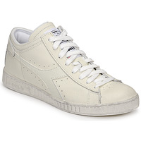 Sko Høje sneakers Diadora GAME L WAXED ROW CUT Hvid