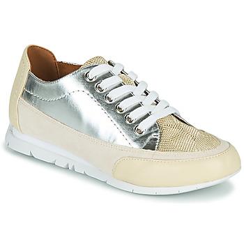 Sko Dame Lave sneakers Karston CAMINO Beige / Sølv