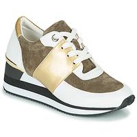 Sko Dame Lave sneakers Karston SILMON Hvid / Guld