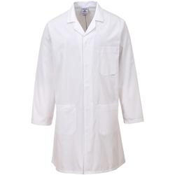 textil Frakker Portwest  White