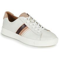 Sko Dame Lave sneakers Clarks UN MAUI BAND Hvid