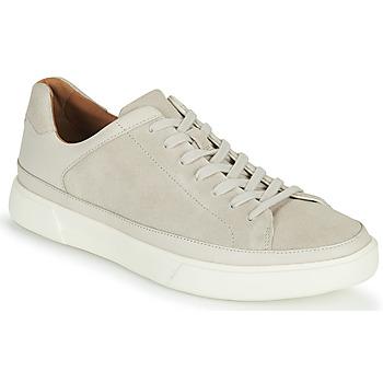 Sko Herre Lave sneakers Clarks UN COSTA TIE Hvid