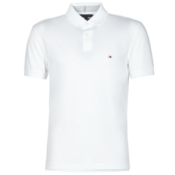 textil Herre Polo-t-shirts m. korte ærmer Tommy Hilfiger 1985 REGULAR POLO Hvid