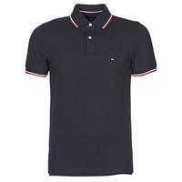 textil Herre Polo-t-shirts m. korte ærmer Tommy Hilfiger TOMMY TIPPED SLIM POLO Marineblå