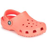 Sko Børn Træsko Crocs CLASSIC CLOG K Orange