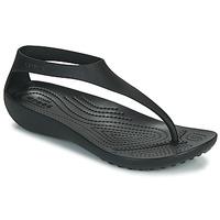 Sko Dame Klipklapper  Crocs CROCS SERENA FLIP W Sort