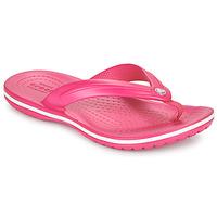 Sko Børn Klipklapper  Crocs CROCBAND FLIP GS Pink