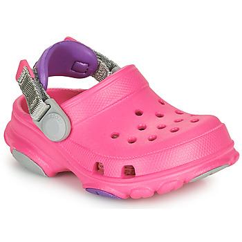 Sko Pige Træsko Crocs CLASSIC ALL-TERRAIN CLOG K Pink