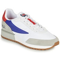 Sko Herre Lave sneakers Fila RETRONIQUE Hvid / Blå / Rød