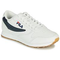 Sko Herre Lave sneakers Fila ORBIT LOW Hvid / Blå