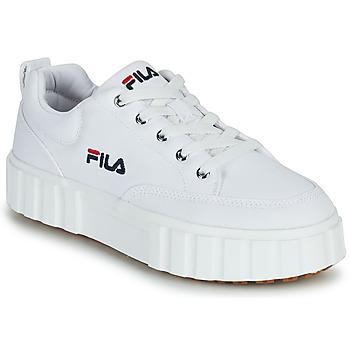 Sko Dame Lave sneakers Fila SANDBLAST C WMN Hvid