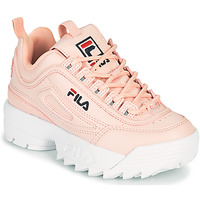 Sko Pige Lave sneakers Fila DISRUPTOR KIDS Pink