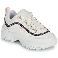 Sko Pige Lave sneakers Fila STRADA A LOW JR Hvid / Beige