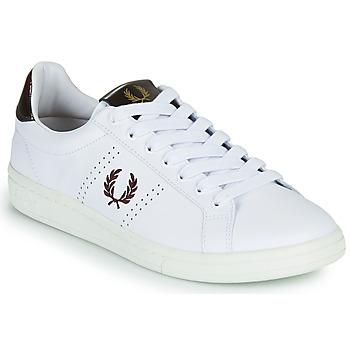Sko Herre Lave sneakers Fred Perry B721 Hvid
