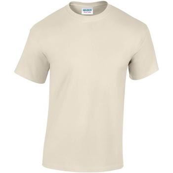 textil Herre T-shirts m. korte ærmer Gildan GD05 Sand