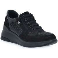 Sko Dame Lave sneakers Enval LEOL NERO Nero