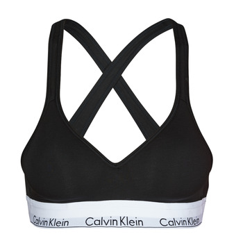 Undertøj Dame Sports-BH'er / toppe Calvin Klein Jeans MODERN COTTON BRALETTE LIFT Sort