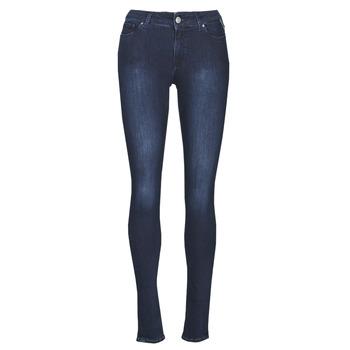 textil Dame Jeans - skinny Replay NEW LUZ Blå / Mørk