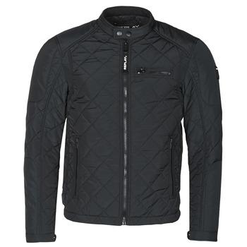 textil Herre Jakker Replay M8000-83110 Sort