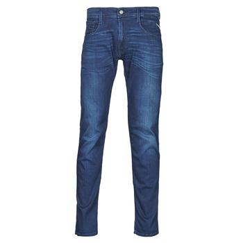 textil Herre Smalle jeans Replay ANBASS Pants Blå / Medium
