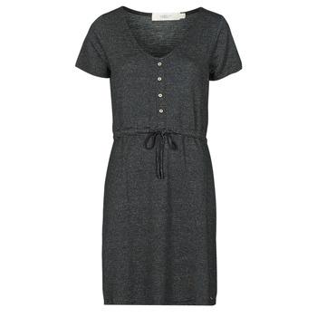 textil Dame Korte kjoler Deeluxe ALINA Sort