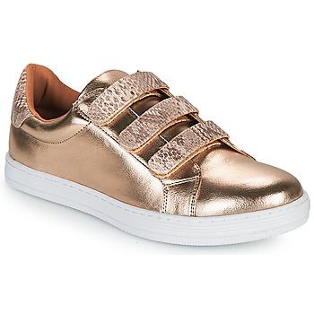 Sko Dame Lave sneakers Moony Mood OCHIC Gylden